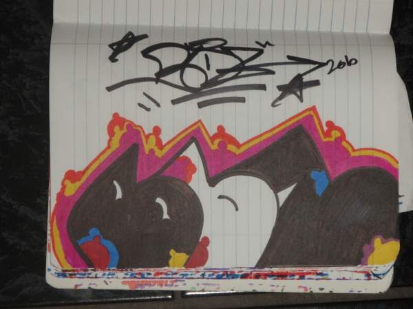 colorful throwie