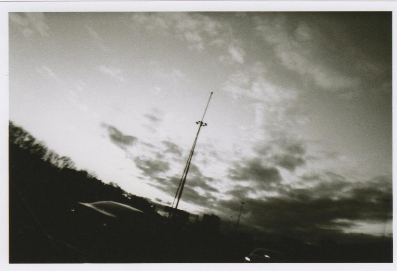 Holga Clouds