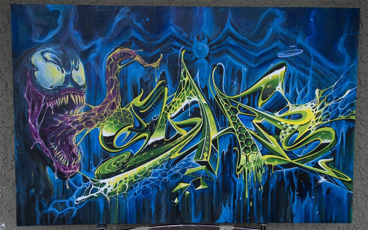 syhis venom canvas1photoshpflicker