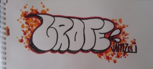 GROTE throwie