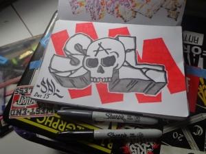 saL skull small
