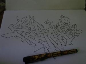 serch outline small