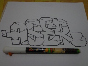 aser outline small