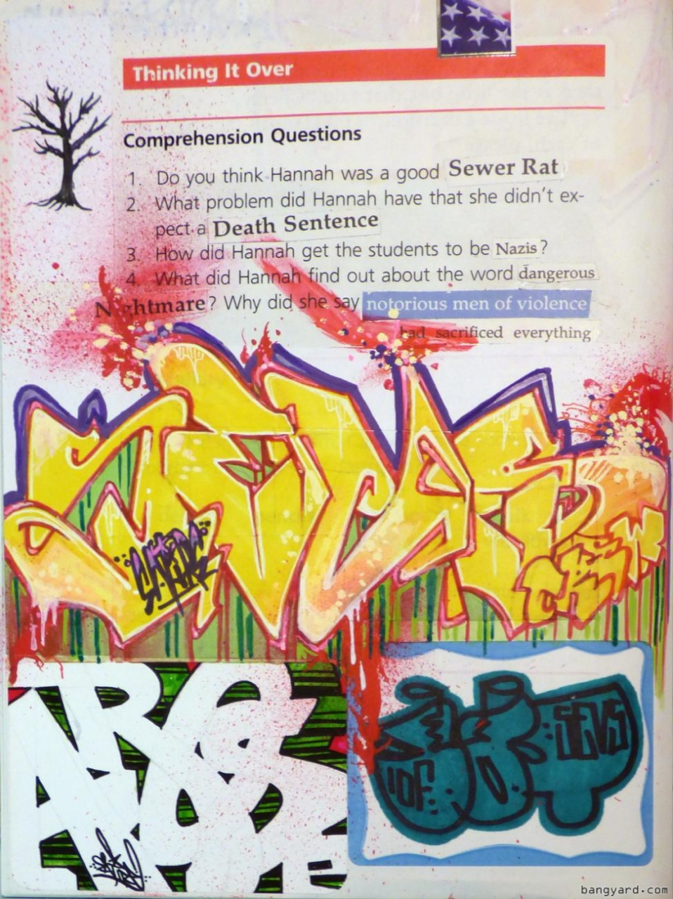 The Word Science In Graffiti