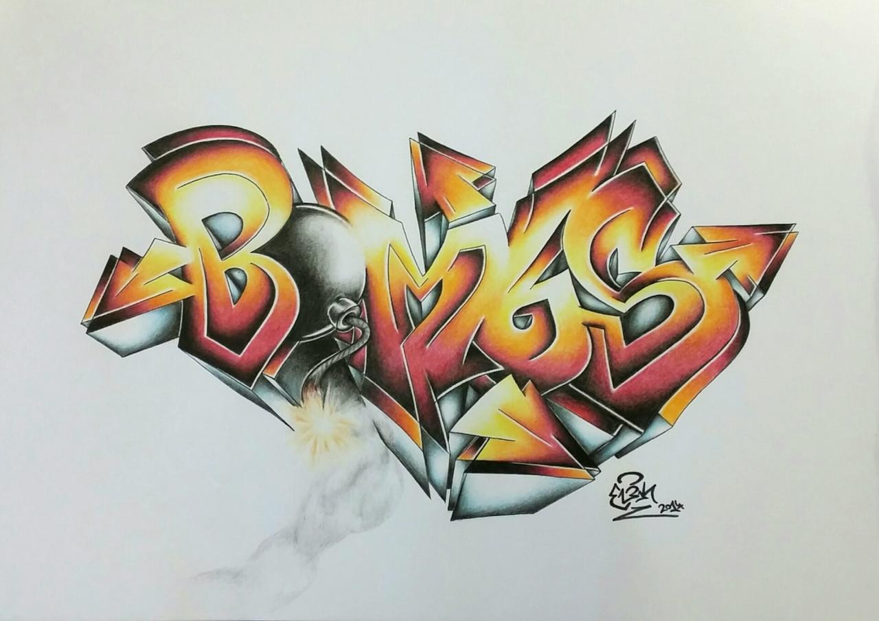 bombs battleSketch