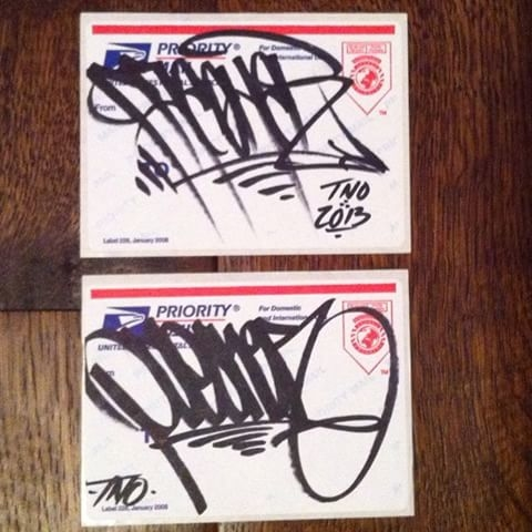 Handstyles  from 2013...