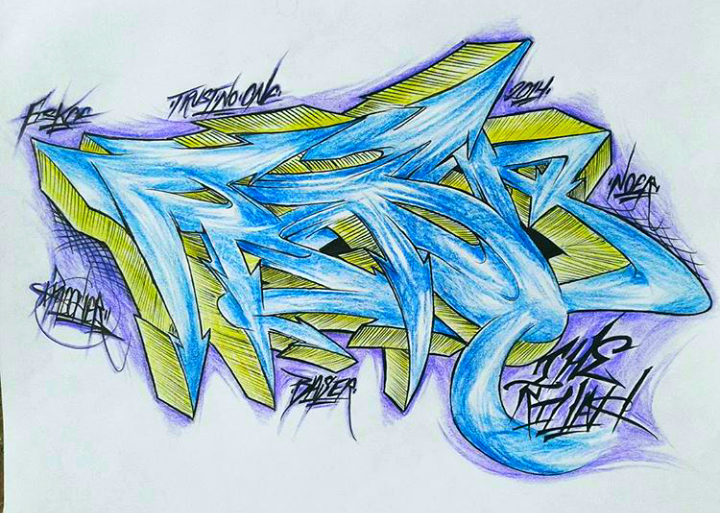 Did this for my homie Fiskoe...