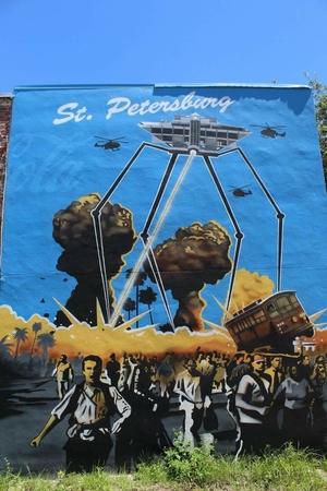 Street art of Saint Petersburg