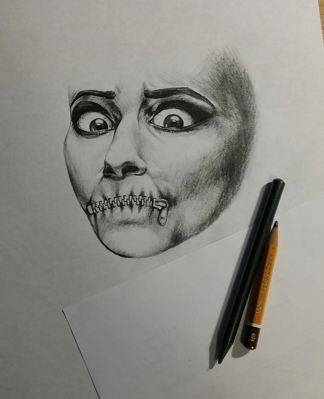 ..my old pencil sketch (2015)