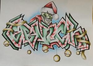 Grinch christmas battleSketch