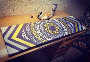 CubeOne Calligraffiti