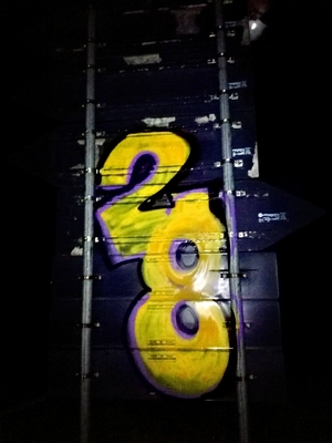 28 - Yellow number