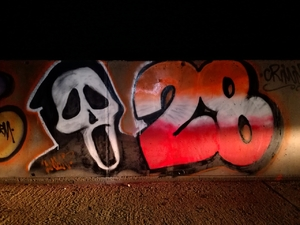 28 - ghost face