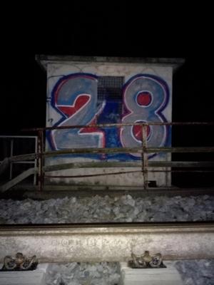28 - a long the railways