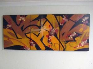 3 panel canvas