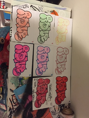 Throwie Stickers