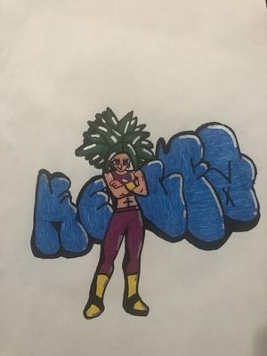 Kefla Throwup Graffiti