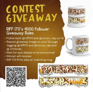 RIFF 170 4000 follower giveaway