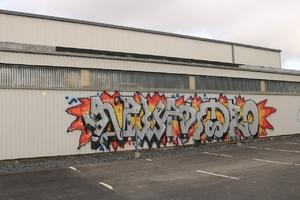 Fucking cool graffiti
